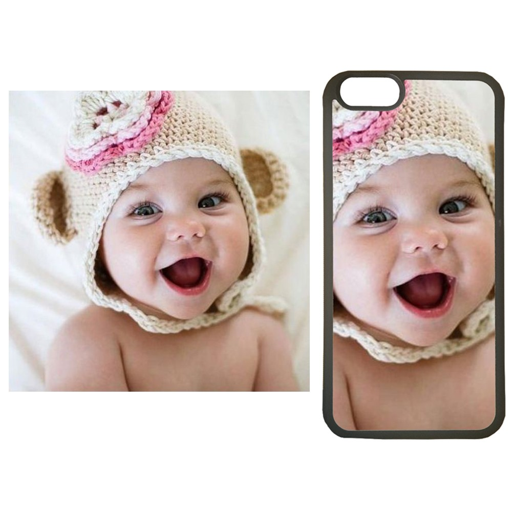 Funda carcasa de movil personalizada con tu foto para el movil Iphone 5 5s