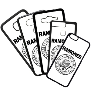 Fundas De Móviles Carcasas De Móvil De TPU  Ramones Música Rock