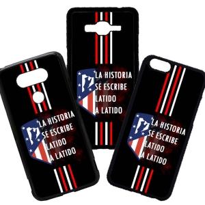 Carcasas de móvil fundas de móviles de TPU compatible con Huawei P8 lite 2017 Modelo Atlético de Madrid Escudo Frases