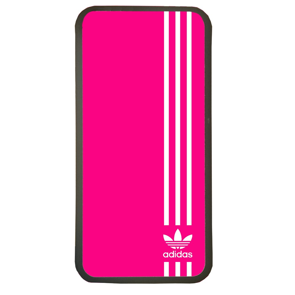 Carcasas de movil fundas de moviles de TPU compatible con Samsung Galaxy A7 2016 marca adidas color fucsia deporte