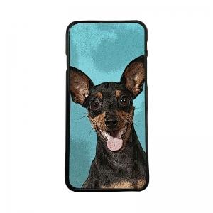 Carcasas de movil funda tpu compatible con huawei p8 lite 2017 pincher perro