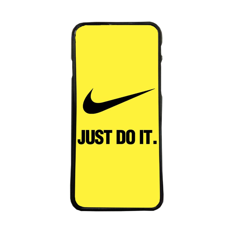Fundas De Móviles Carcasas De Móvil De TPU Nike Just Do It Fondo Amarillo