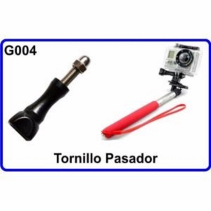 Tornillo Pasador para Cámara Deportiva Compatible Con GoPro HERO HERO-1 2 3 HD