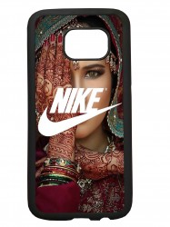 Carcasas de movil funda compatible con samsung galaxy s7 edge modelo nike etnico