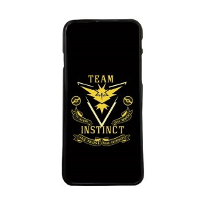 Fundas De Móviles Carcasas De Móvil De TPU Modelo Team Instinct Pokemon Go Amarillo