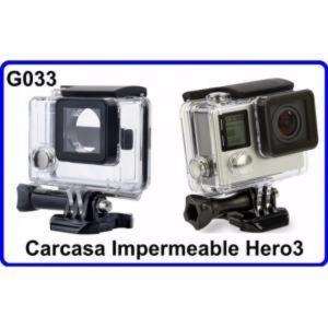 Carcasa Acuatica  para Accesorios Camara Deportiva Compatible con GoPro Hero 3