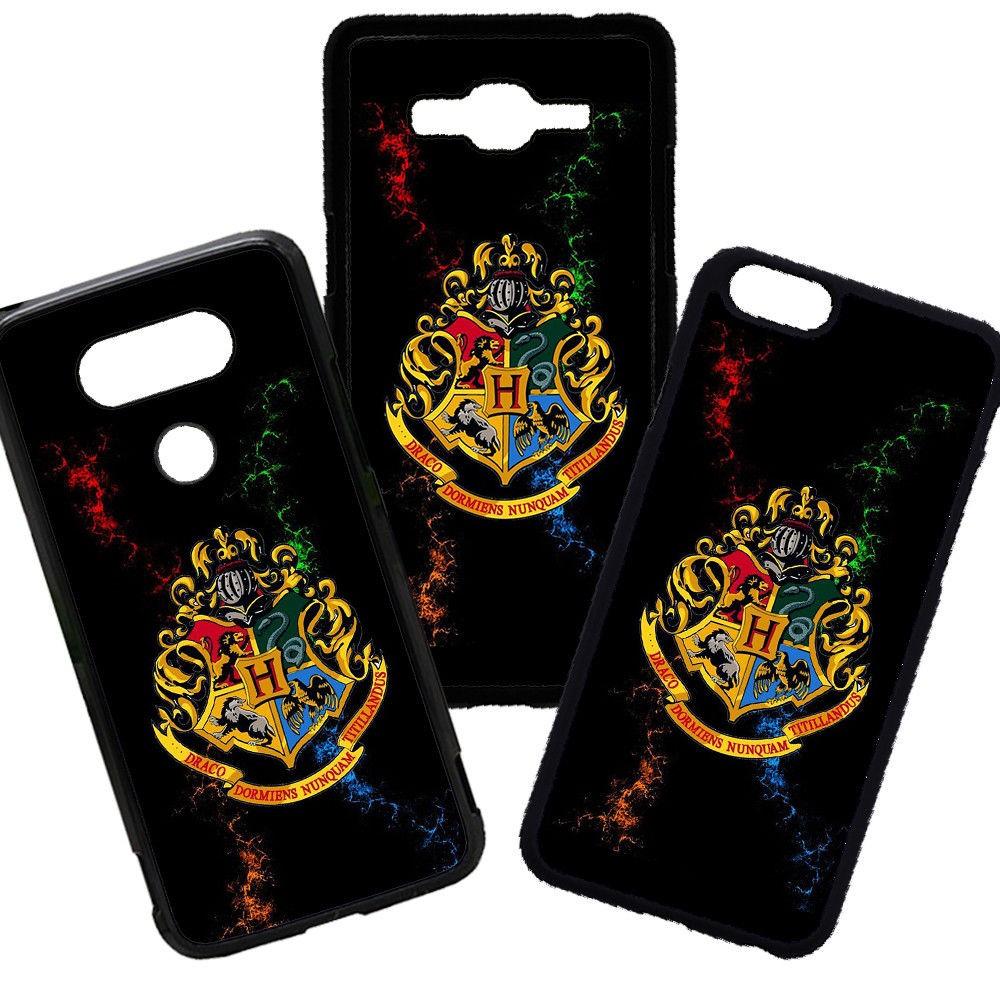 Funda de Móvil de TPU modelo Harry Potter Escudo de Hogwarts compatible con el Samsung Galaxy A8 Carcasas de Moviles