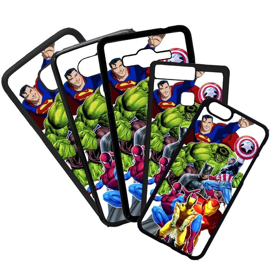 Fundas De Móviles Carcasas De Móvil De TPU Marvel Superheroes Capitan America Colage