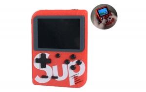 Mini Consola Maquina Retro Sup Game Box 400 en 1 Juegos Videojuegos Color Rojo