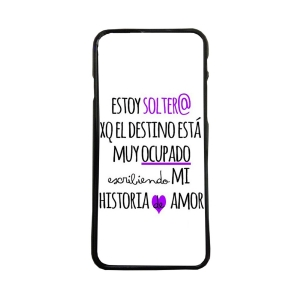 Fundas De Móviles Carcasas De Móvil De TPU Soltero Mundo Historia Amor