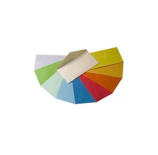 Paquete de 25 sobres de colores color michel 160X220