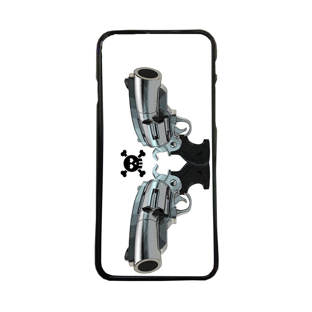 Carcasas de movil fundas de moviles de TPU compatible con Iphone 6s Plus revolver pistola