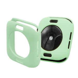 Protector Silicona Funda Compatible Con Apple Watch 38-40 MM Color Verde