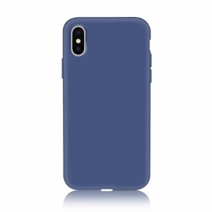 Funda Carcasa Case Iphone Silicona Flexible Ultra Fina Tpu Suave Compatible con iphone 5/5S Azul Oscuro