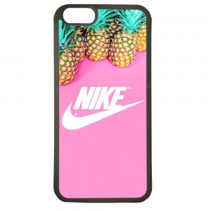 Carcasas funda de movil compatible con iphone 8 modelo nike piña