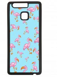 Funda carcasas móvil flamencos compatible con el móvil Huawei P9 Plus