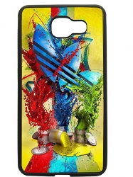 Funda carcasas móvil adidas pintura compatible con movil Samsung Galaxy A7 2016
