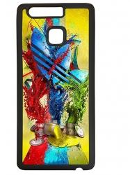 Funda carcasas móvil adidas pintura compatible con el móvil Huawei P9 Lite