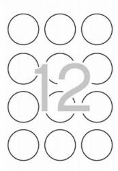 1200 Etiquetas Adhesivas A4 Multi 3 de 60mm Impresoras Láser 10489