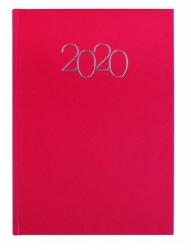 Agenda Año 2020 Color Rojo Primato Dia Pagina Diario Mapa Indice Telefonico
