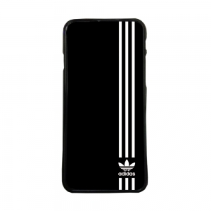 Fundas de movil carcasas compatible con iphone se modelo adidas logotipo blanco