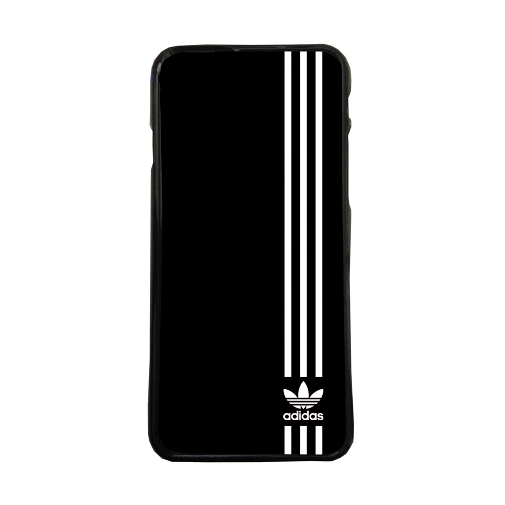 Fundas movil carcasas compatible con Samsung Galaxy A8 adidas logotipo blanco