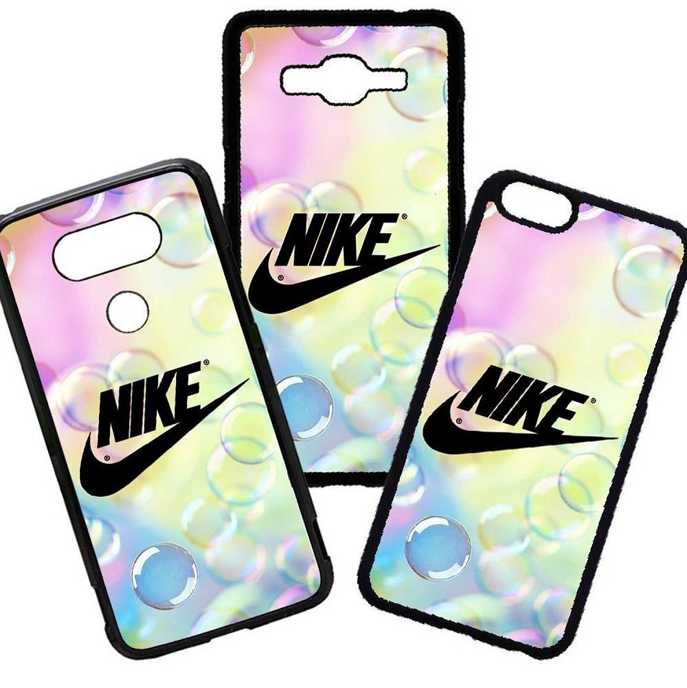 Fundas De Móviles Carcasas De Móvil De TPU Nike Moda Marca Burbujas
