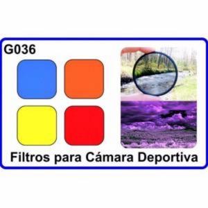 Filtro para Camara Deportiva Compatible Con GoPro HERO 3+ 4 HD Accesorios Moda