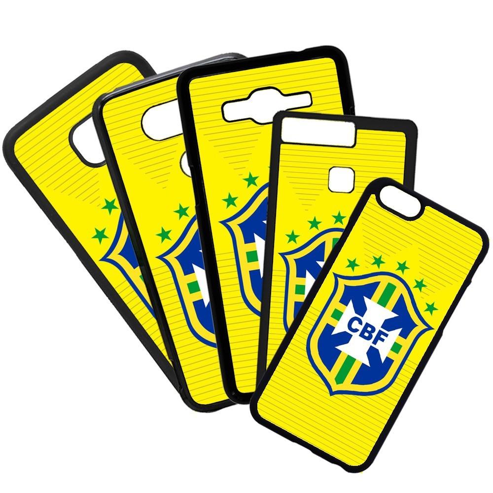 Carcasas de movil fundas de moviles de TPU compatible con Huawei P20 Pro selección de brasil fútbol