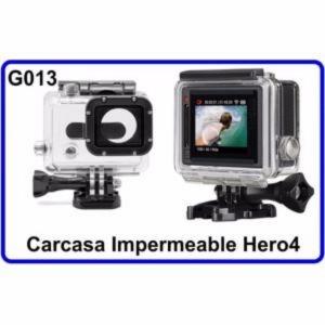 Carcasa Acuatica  Accesorios para Camara Deportiva Compatible con Gopro Hero 4/3