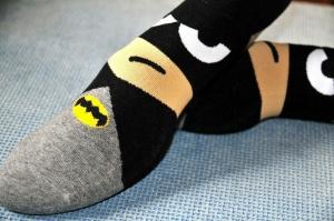 Calcetines Superheroes Moda Dibujos Heroes Niños Adultos Unisex Ropa Batman