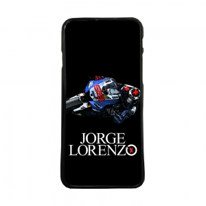 Funda de movil carcasas compatible con iphone 7 modelo jorge lorenzo 99 motos