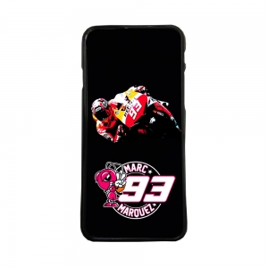 Funda de movil carcasas compatible con iphone 7 modelo marc marquez 93 motos