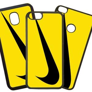 Fundas De Móviles Carcasas De Móvil De TPU Modelo Nike Amarillo Marcas Moda