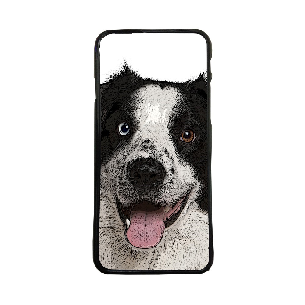 Funda de movil carcasas compatible con iphone 5 5s perro collie