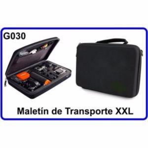 Maletin de Transporte XXL para Accesorios Camara Deportiva Compatible con GoPro