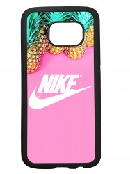 Carcasas funda de movil compatible con samsung galaxy s7 edge modelo nike piña