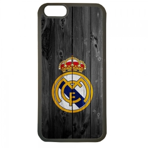 Carcasas de movil fundas de tpu compatible con iphone 7 real madrid escudo