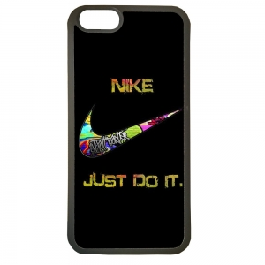Carcasas de movil fundas de tpu compatible con iphone 7 nike negro