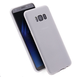 Funda Carcasa Case Samsung Galaxy Silicona Flexible Ultra Fina Tpu Suave Compatible con Samsung Galaxy  S8 Plus Transparente