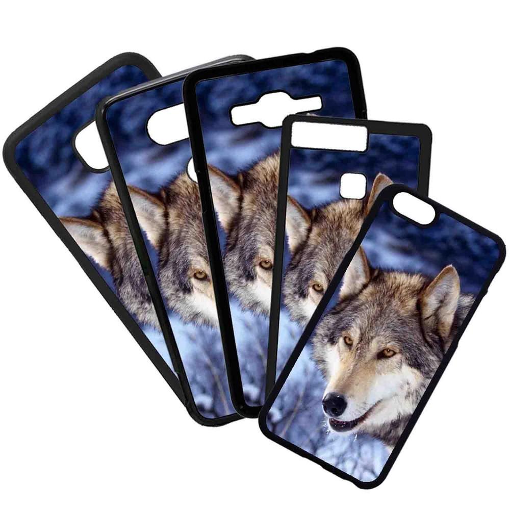 Carcasas De Móvil Fundas De Móviles De TPU Modelo Lobo Animales Color