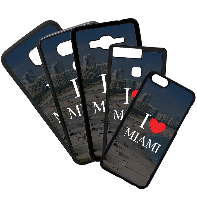 Carcasas De Móvil Fundas De Móviles De TPU Modelo I Love Miami