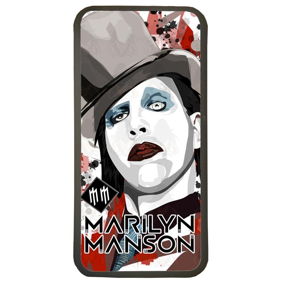 Carcasas De Móvil Fundas De Móviles De TPU Modelo Grupo de Música Marilyn Manson
