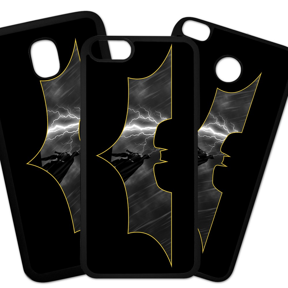 Carcasas De Móvil Fundas De Móviles De TPU Modelo Superheroe Batman logo el caballero oscuro