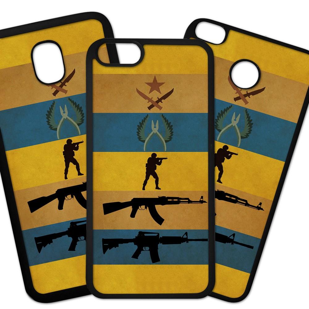 Carcasas De Móvil Fundas De Móviles De TPU Modelo Videojuegos, consolas, Counter strike logos