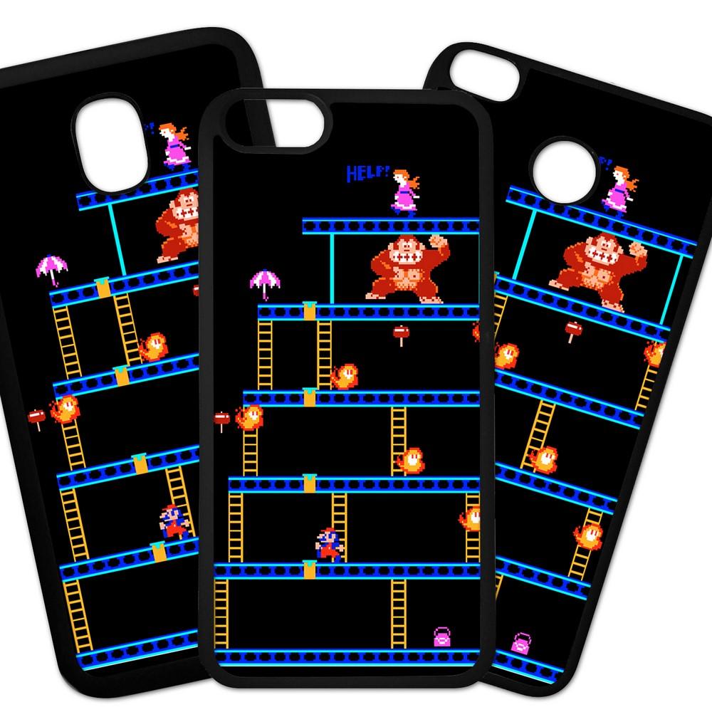 Carcasas De Móvil Fundas De Móviles De TPU Modelo Videojuegos, consolas,retro  Donkey Kong