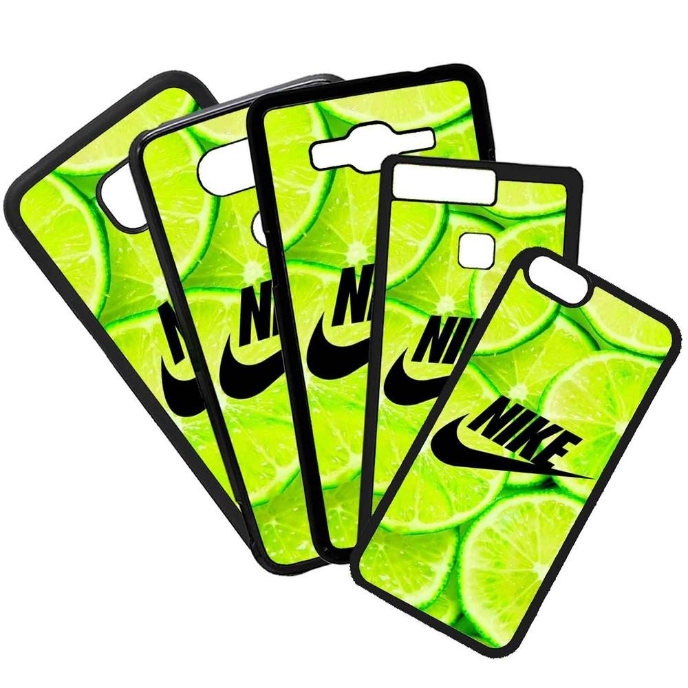 Carcasas De Móvil Fundas De Móviles De TPU Modelo Nike Limón