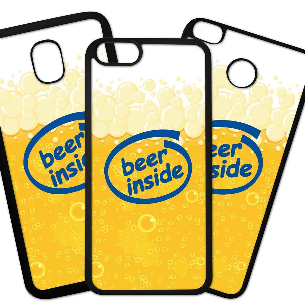 Carcasas De Móvil Fundas De Móviles De TPU Modelo Logotipo parodia humor marcas Beer inside