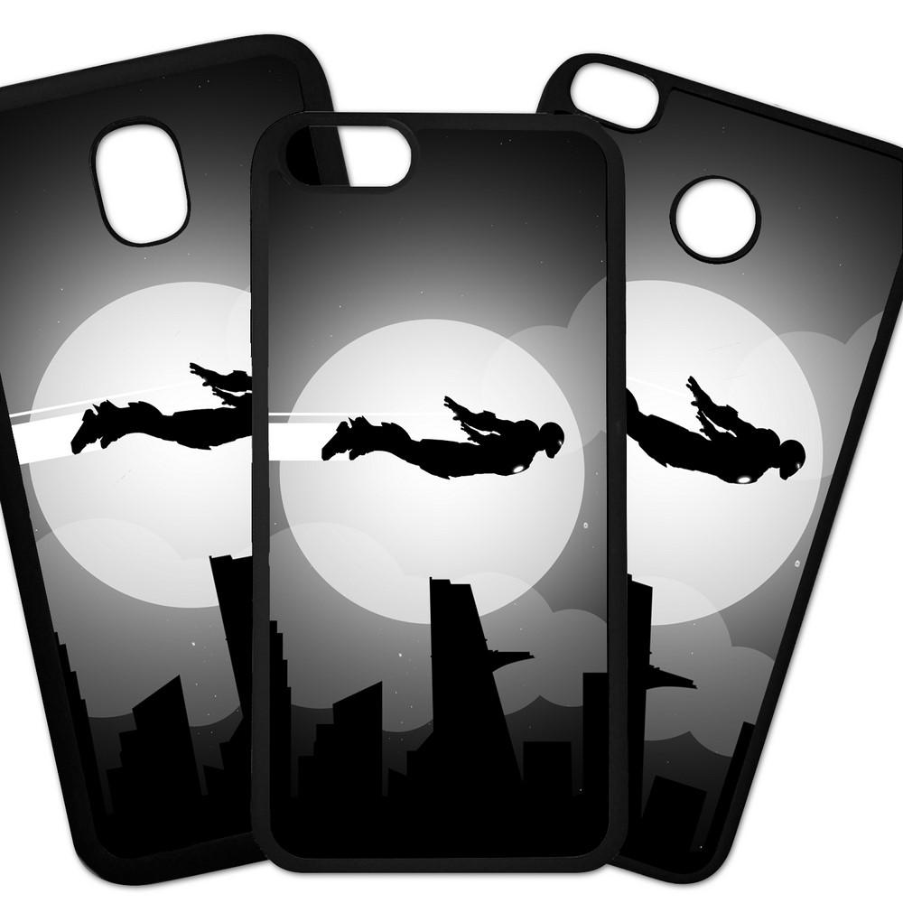 Carcasas De Móvil Fundas De Móviles De TPU Modelo Hombre de Hierro en vuelo, superheroes