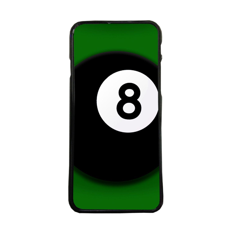 Carcasas De Móvil Fundas De Móviles De TPU Modelo Bola De Billar Numero 8 Negro